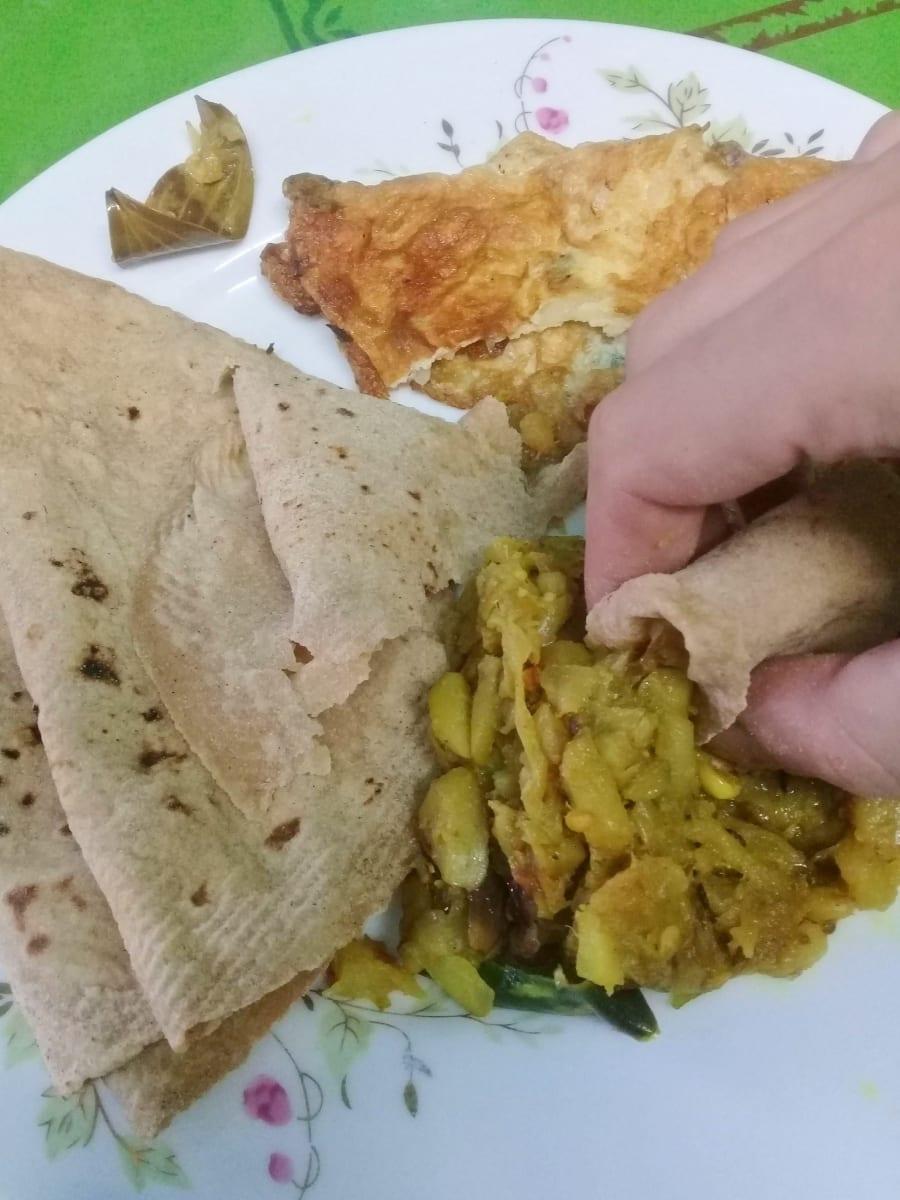 Bengálská snídaně, Dháka, Bangladéš