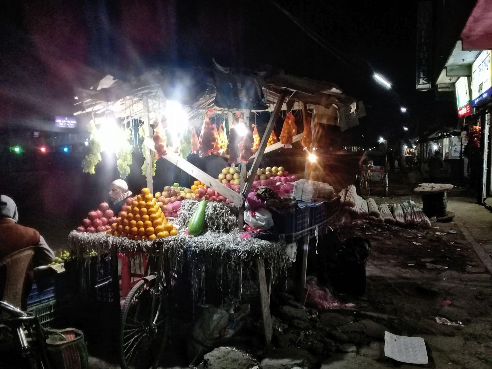 Stánek s ovocem, Bangladéš