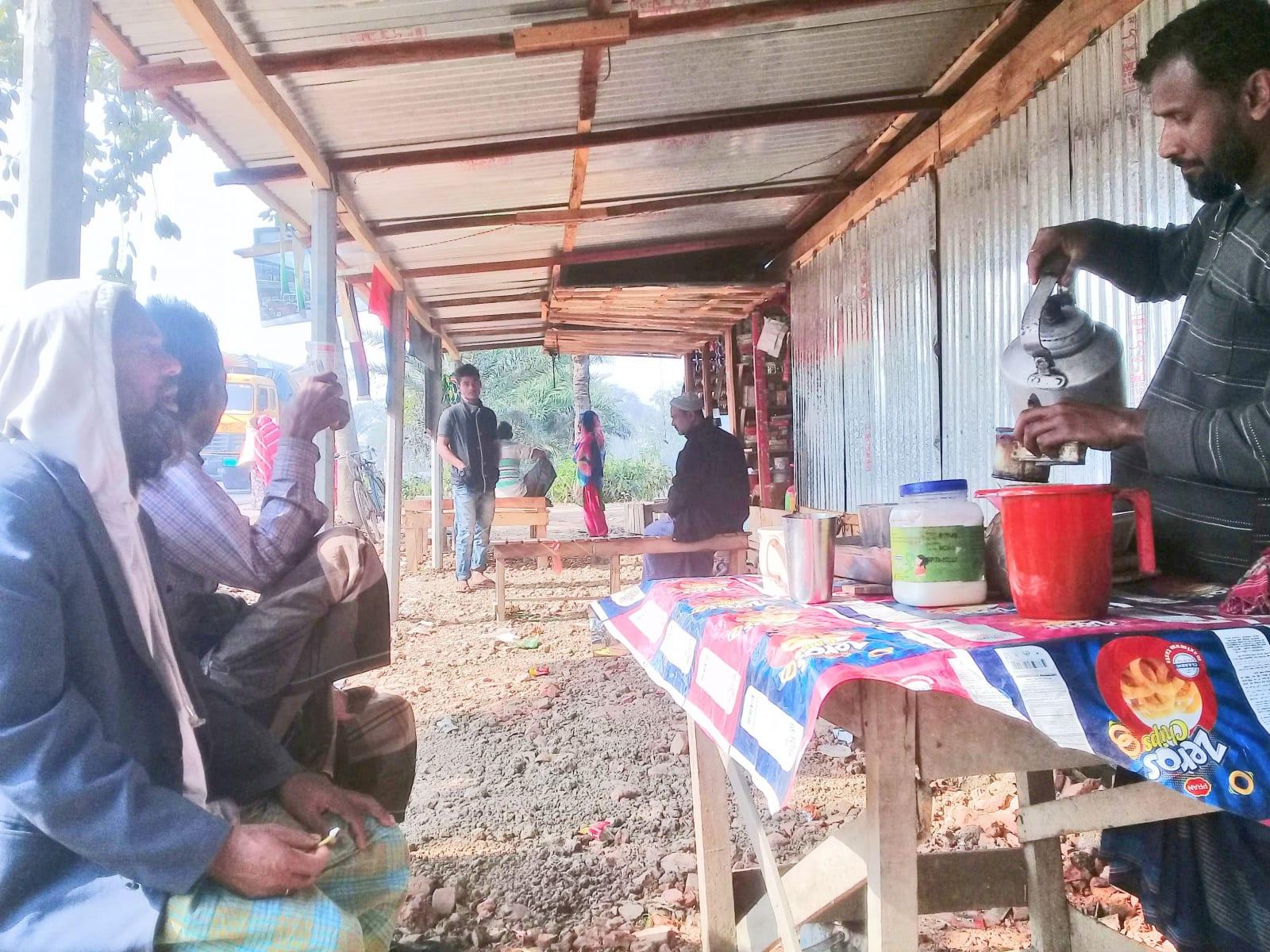 Oblíbené popíjení čaje s mlékem, Bangladéš