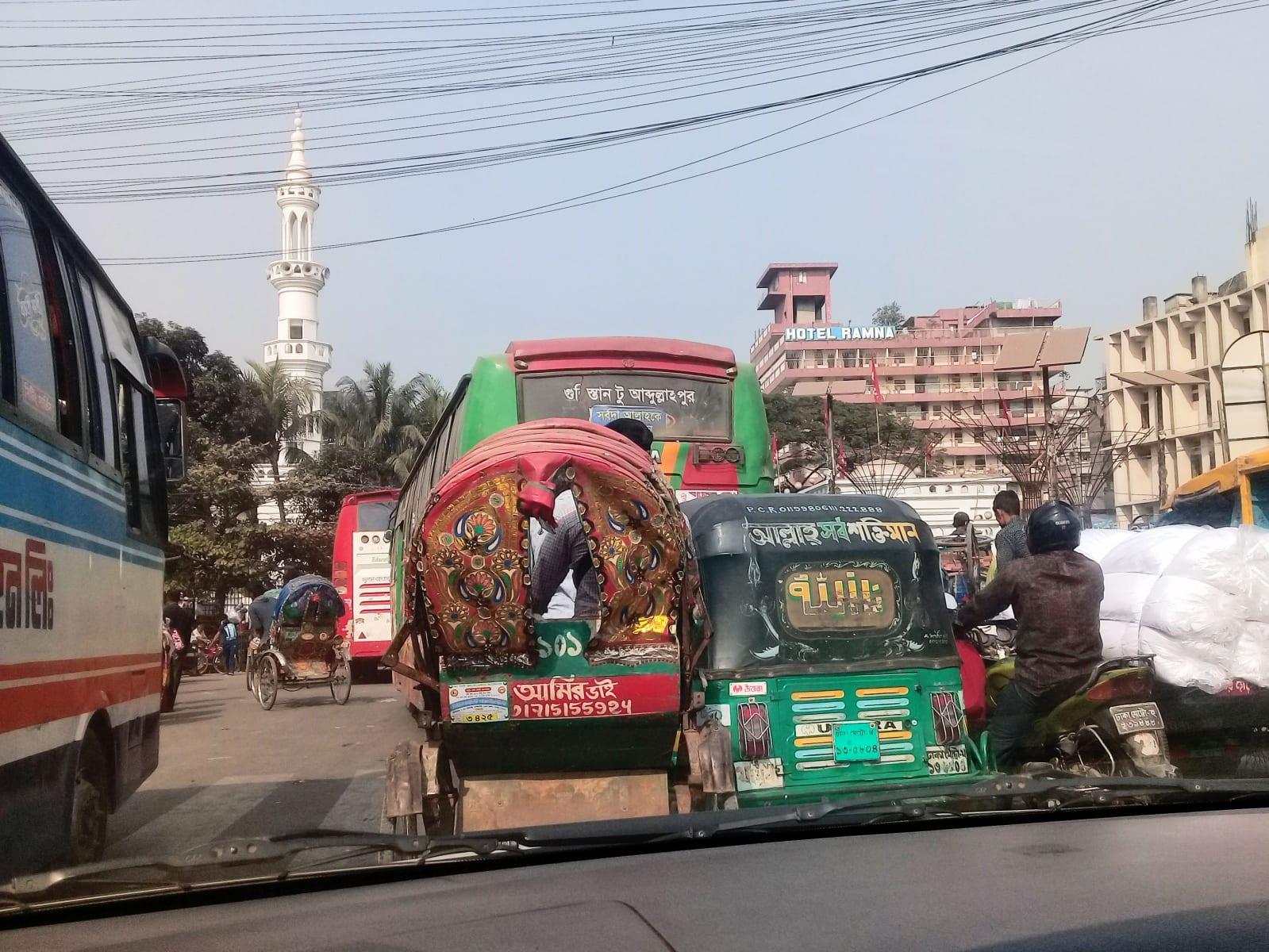 Ulice Dhaky, Bangladéš