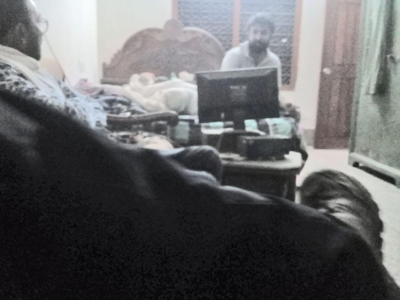 Návštěva u blízkého přítele bratra Mehediho, Bangladéš
