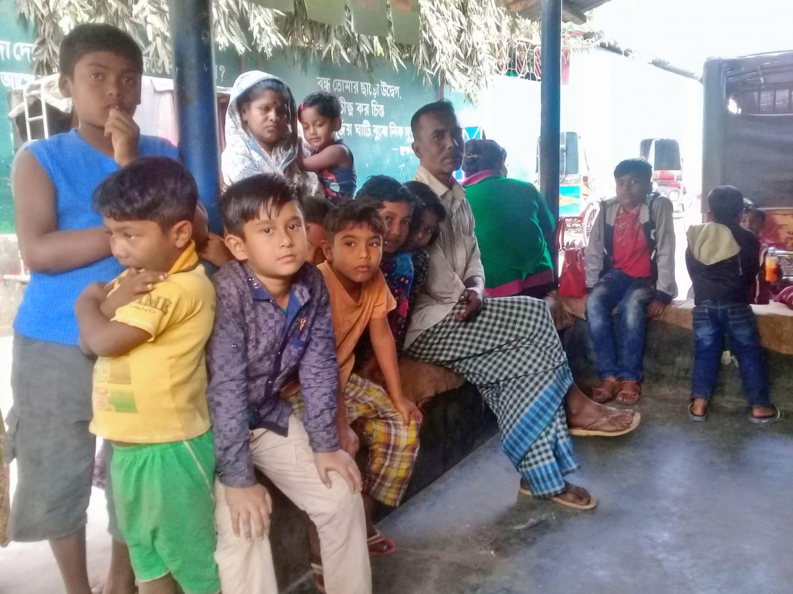 V Bangladéši není zírání považováno za něco špatného