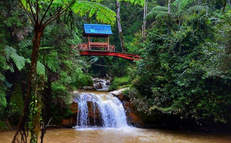 Parit Falls, Cameron Highlands, Malajsie
