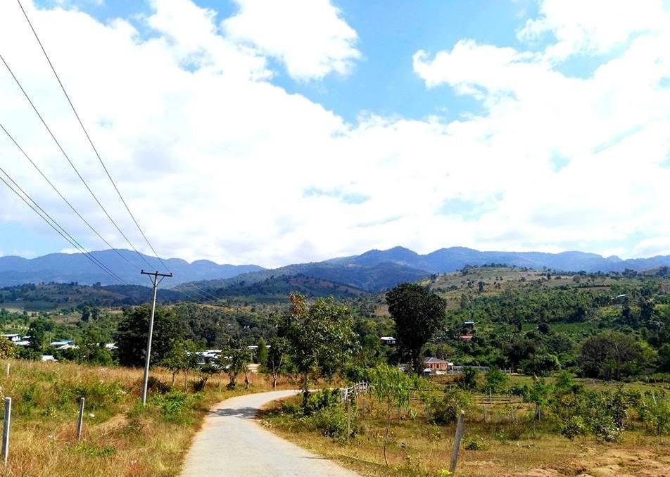 Cesta k jeskyni Htet Eain Gu