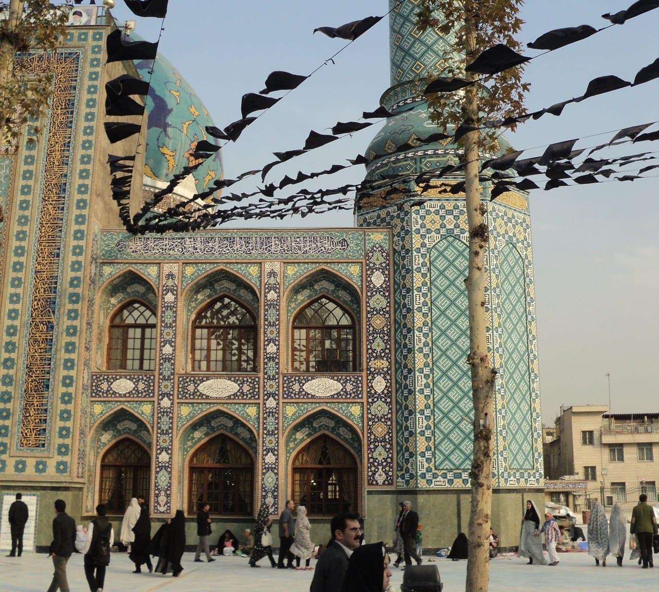 Lotfolláhova mešita, Isfahán, Írán