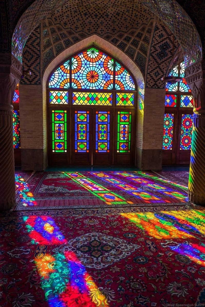 Mešita Nasir al Mulk, Írán