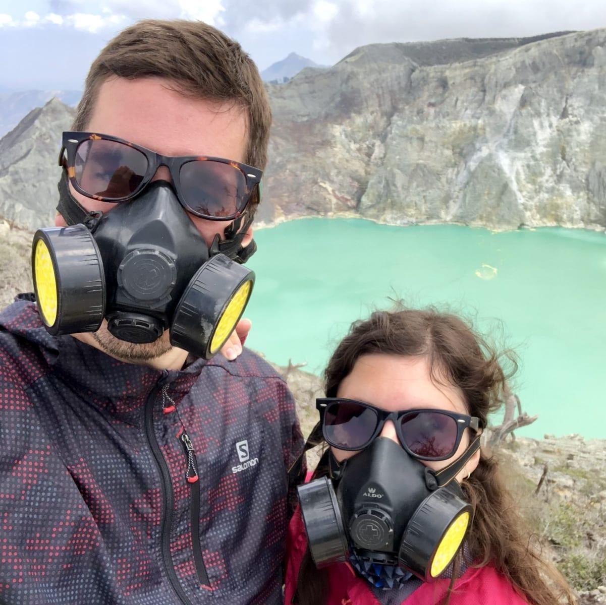 Kráter Iljen, Jáva, Indonésie