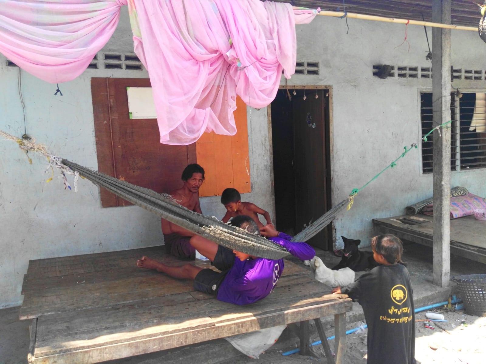 Moken sea gypsy village, Koh Phayam, Thajsko
