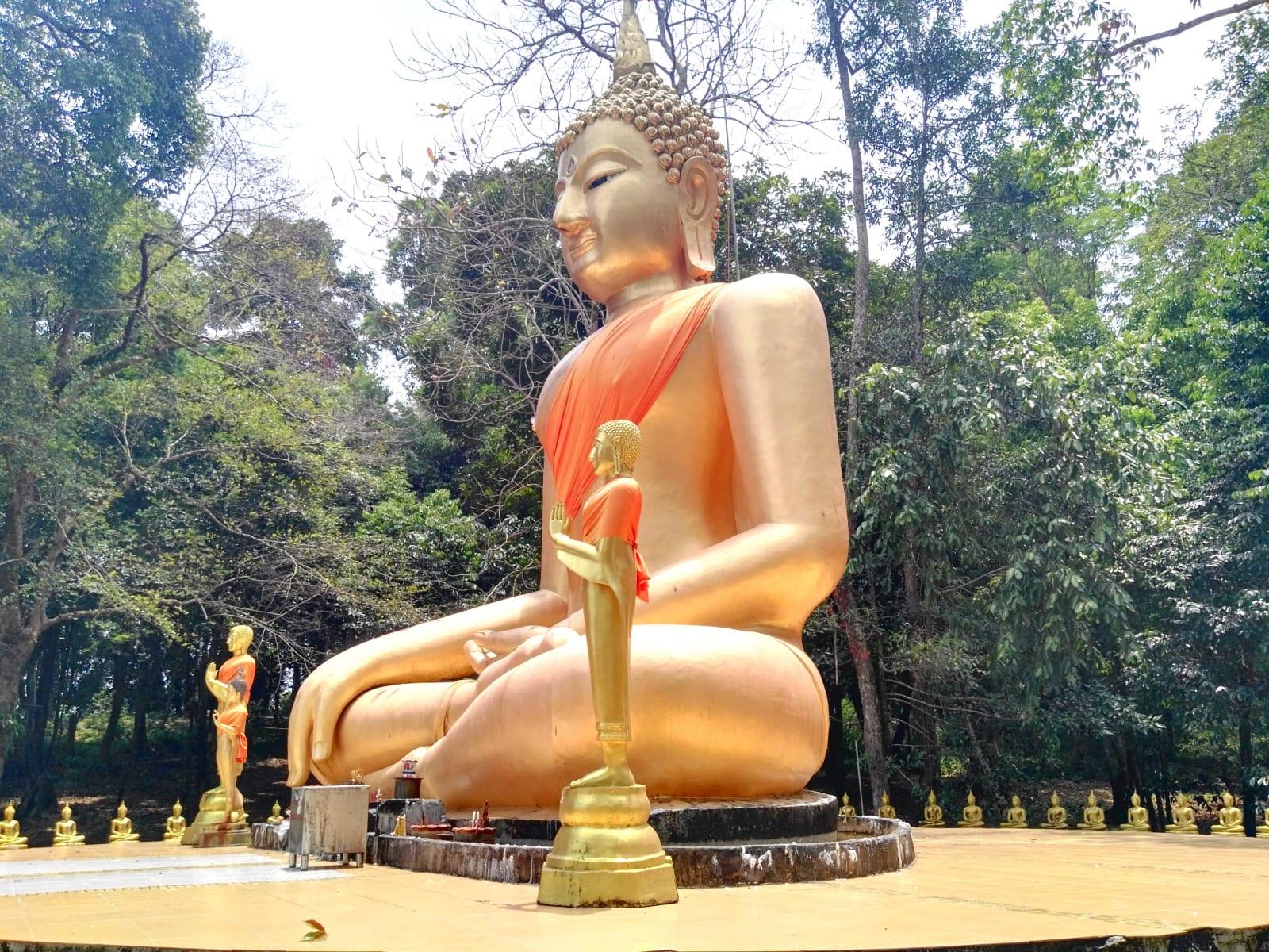 Buddhistický chrám, Koh Phayam, Thajsko