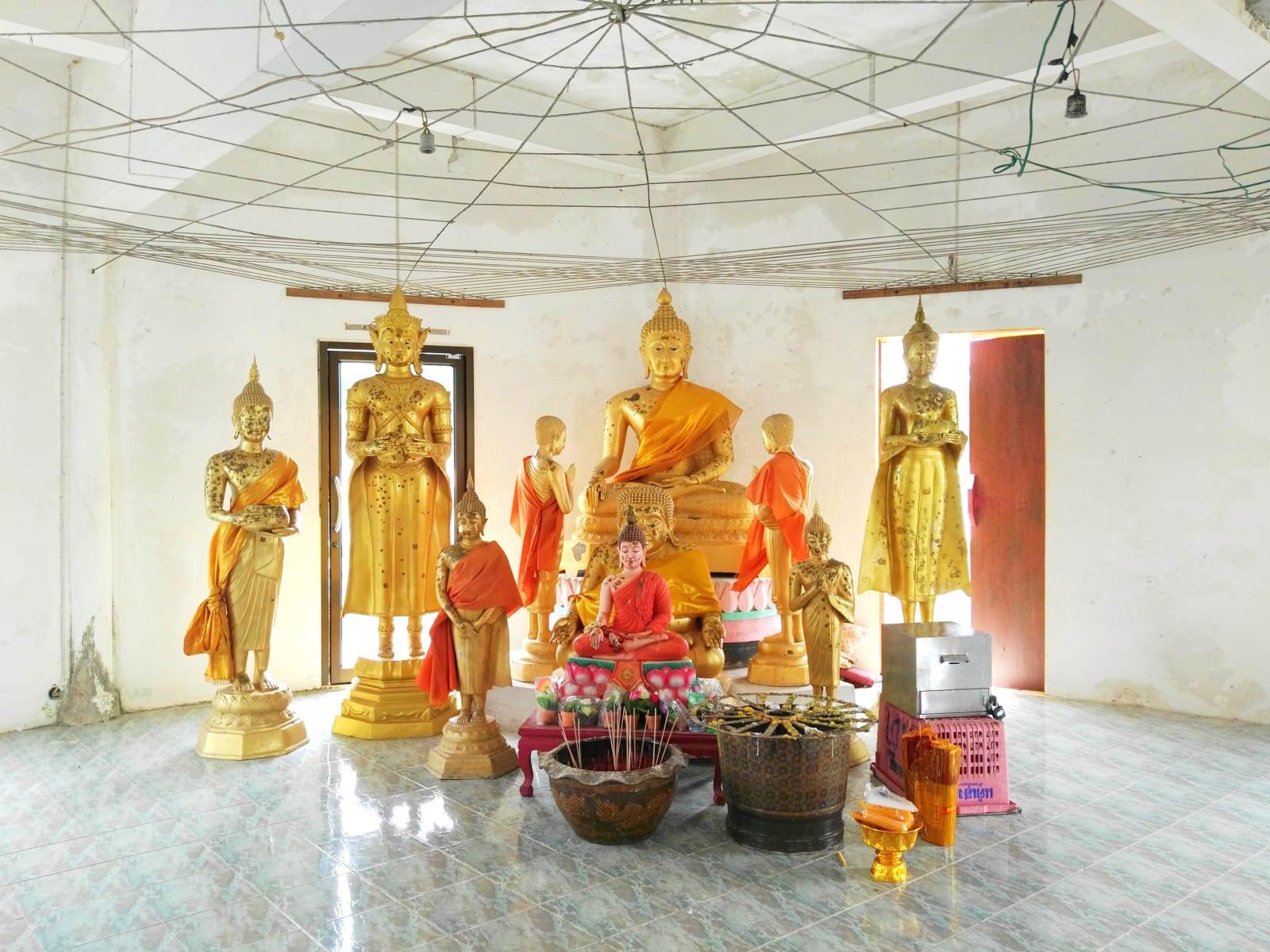 Druhý buddhistický chrám na vodě, Koh Phayam, Thajsko