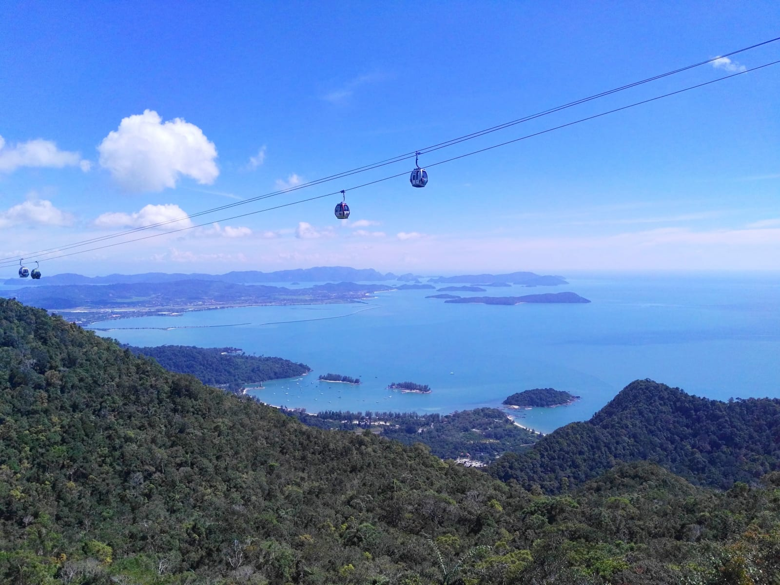 Sky cable car