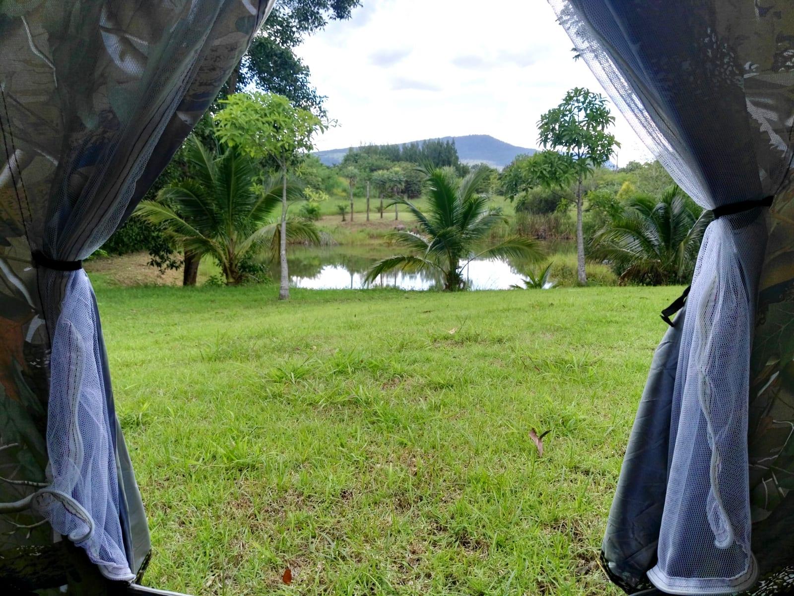 Low-cost ubytování ve stanu, The creek villa, Loei, Thajsko