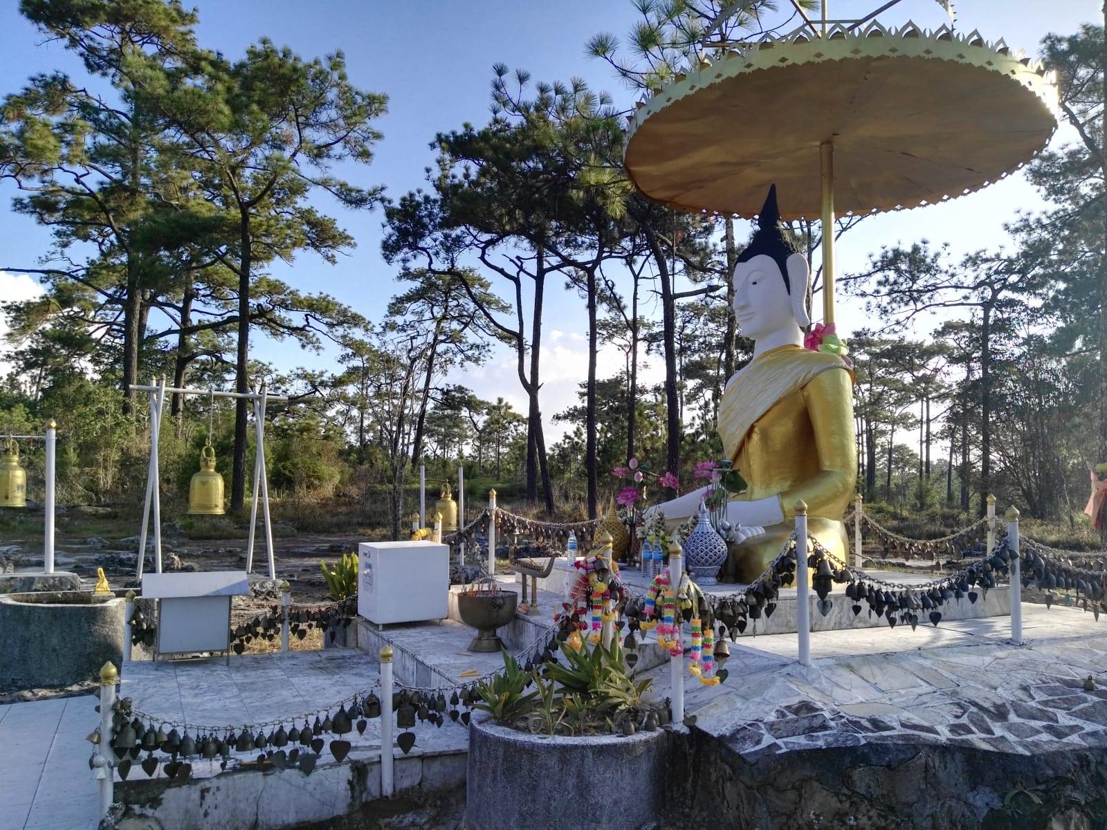 Posvátné místo, Phu Kradueng, Loei, Thajsko
