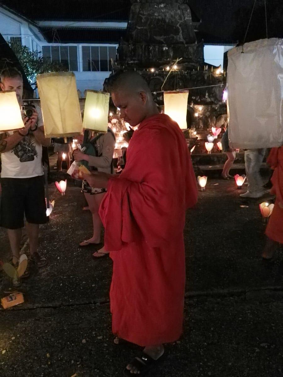 Festival světel, Luang Prabang, Laos
