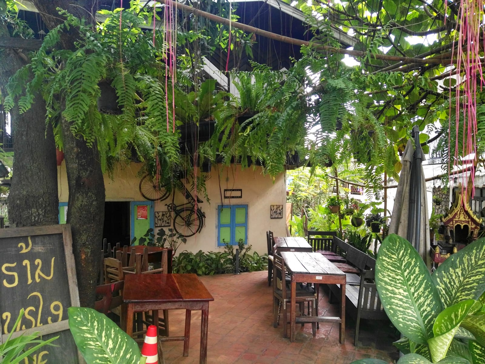 Stará čtvrť, Luang Prabang, Laos