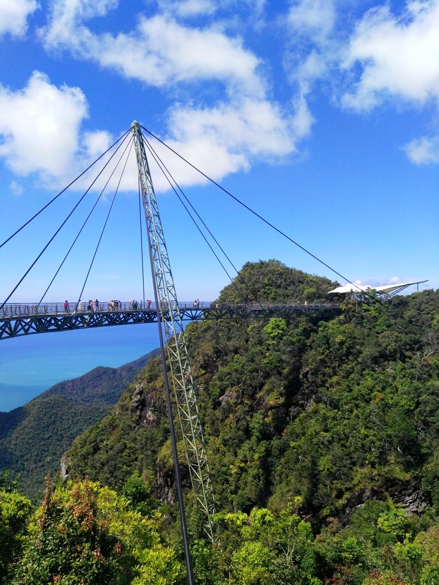 Sky bridge, Langkawi, Malajsie