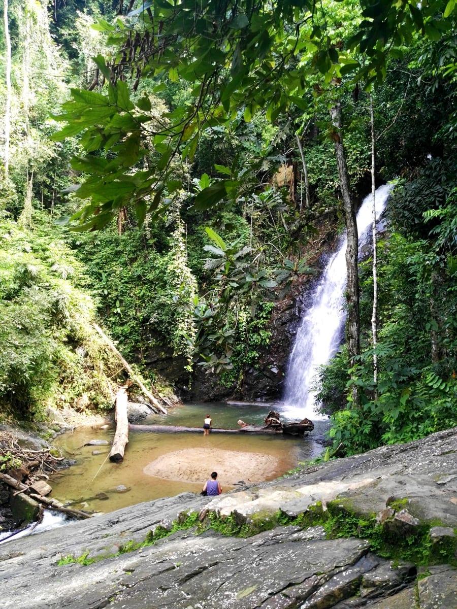 Durian Perangin waterfall, Langkawi, Malajsie