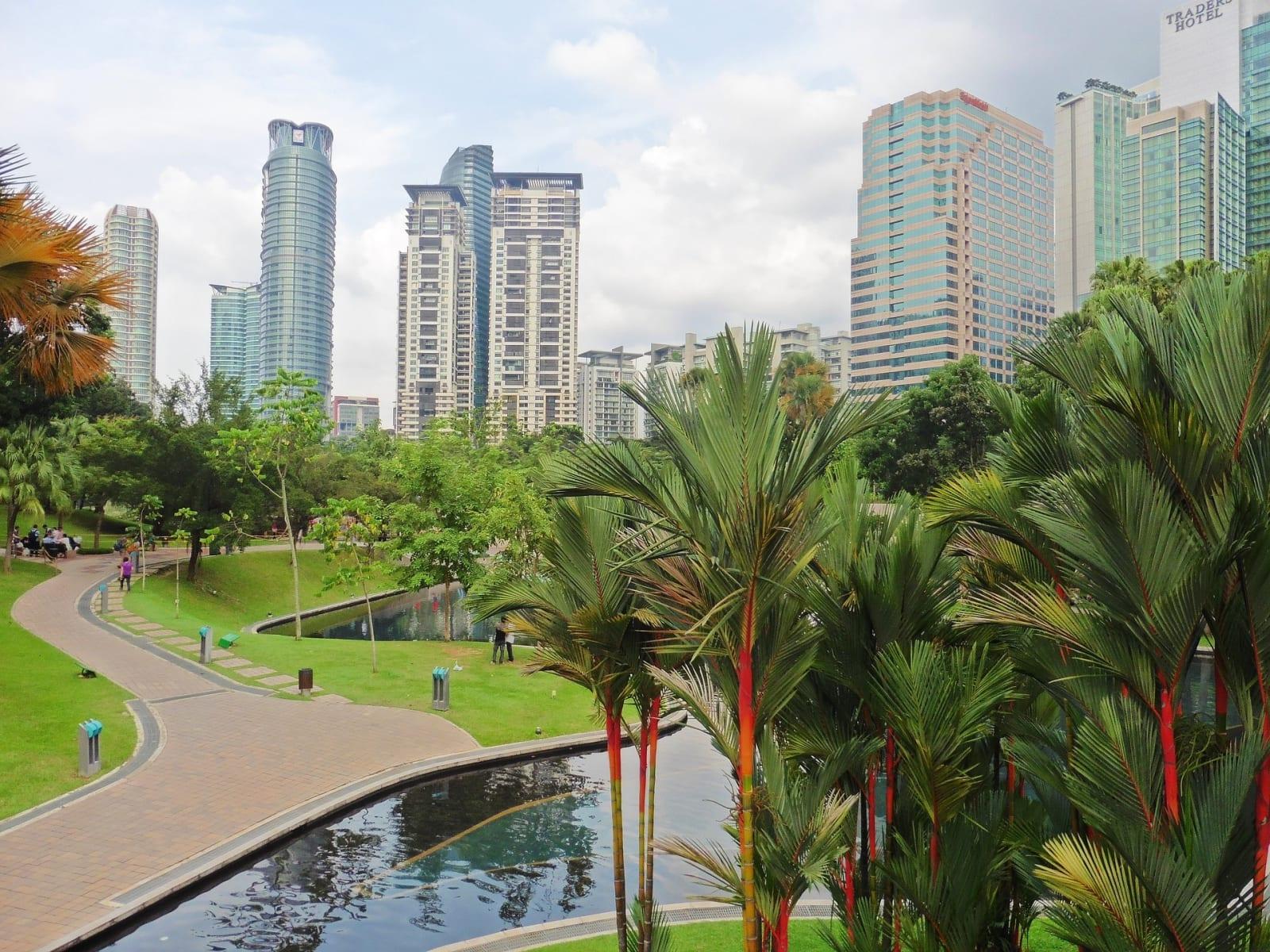 Park za Petronas Towers, Kuala Lumpur, Malajsie