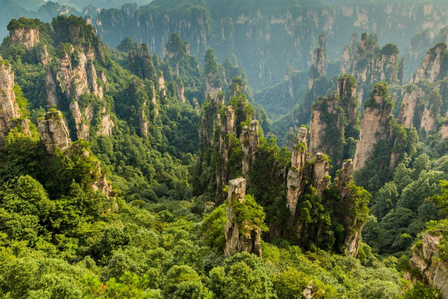 Přírodní park Wu-ling-jüan, Čína