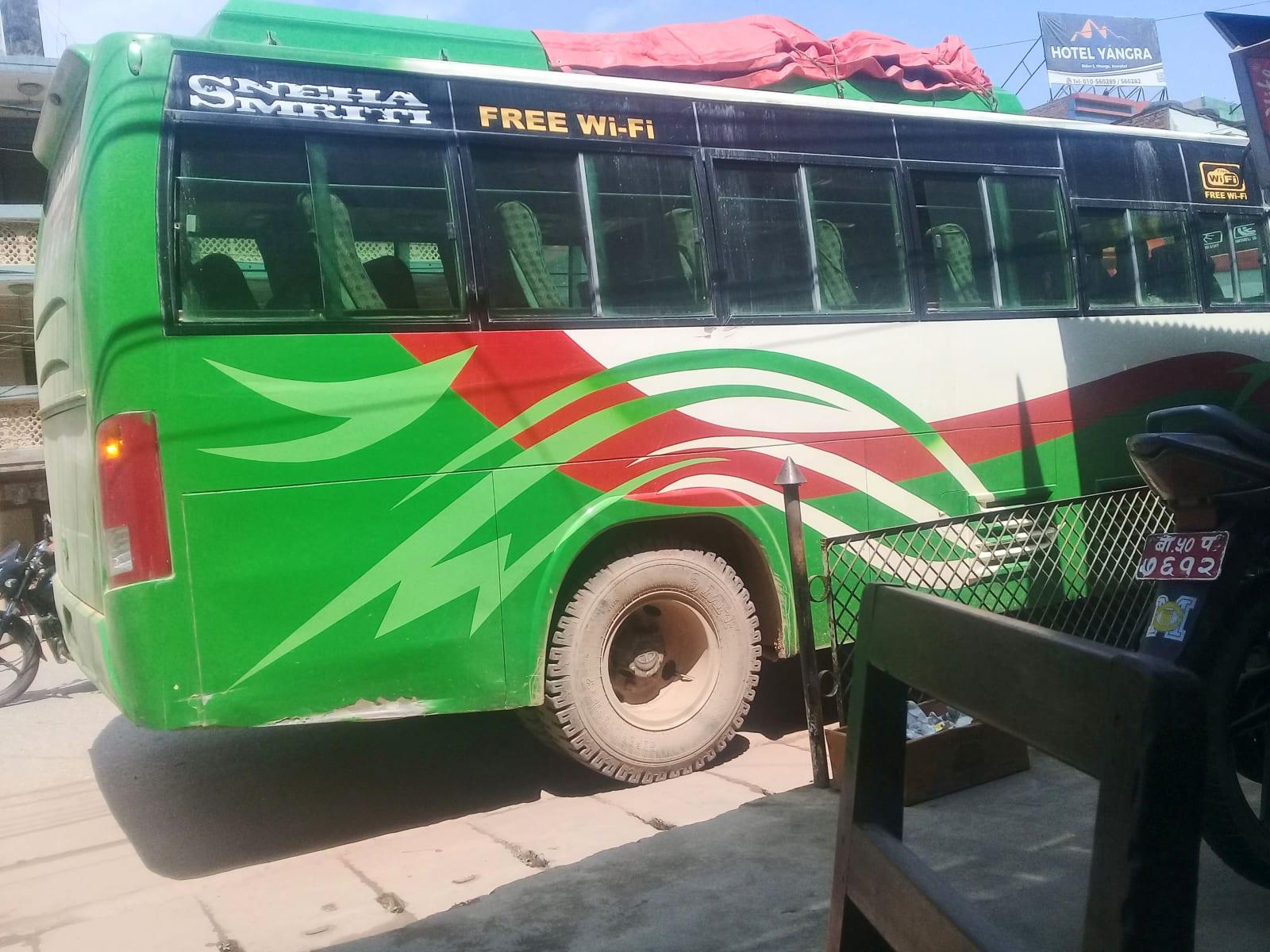 Autobus do Syabrubesi, Nepál