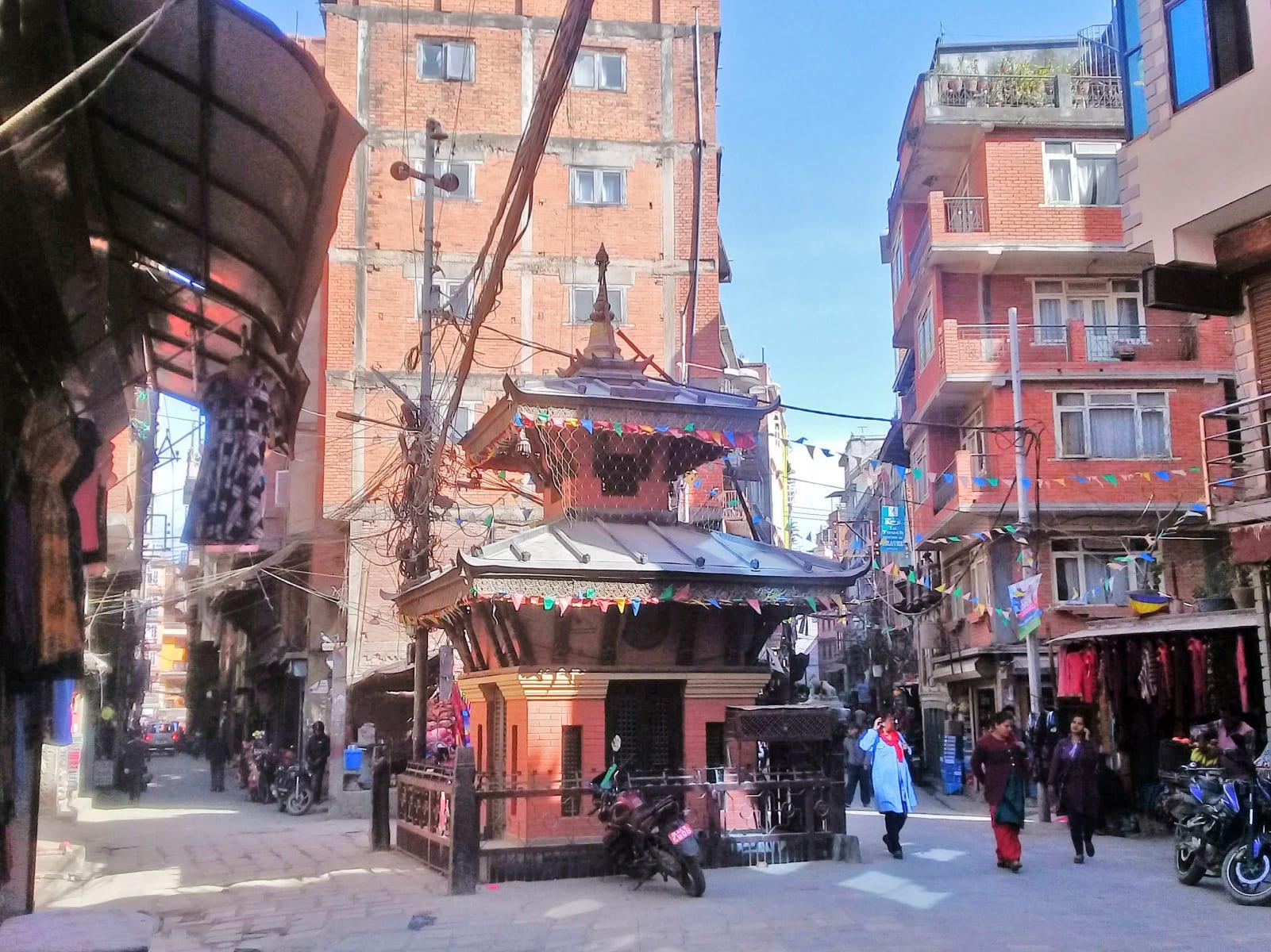 Z ulic Káthmándú, Nepál