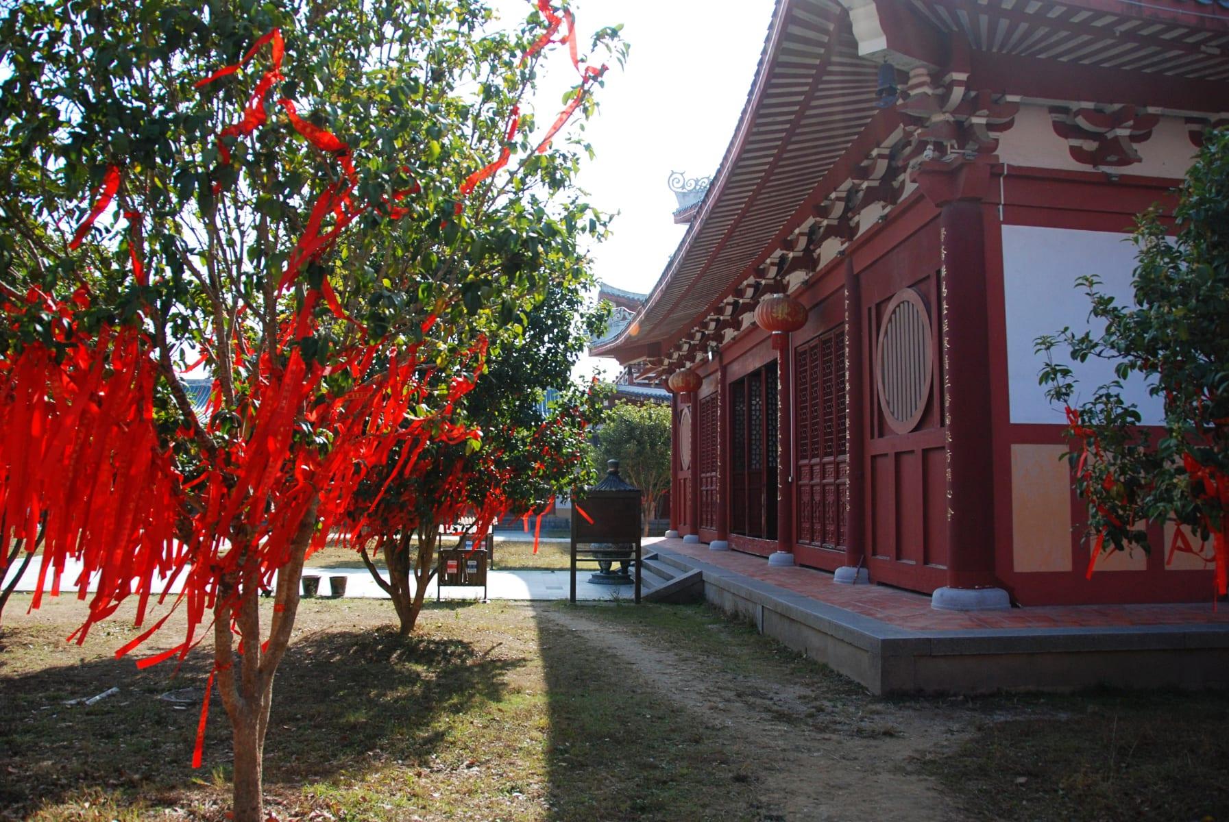 Jižní šaolinský chrám, provincie Fu-ťien, Čína