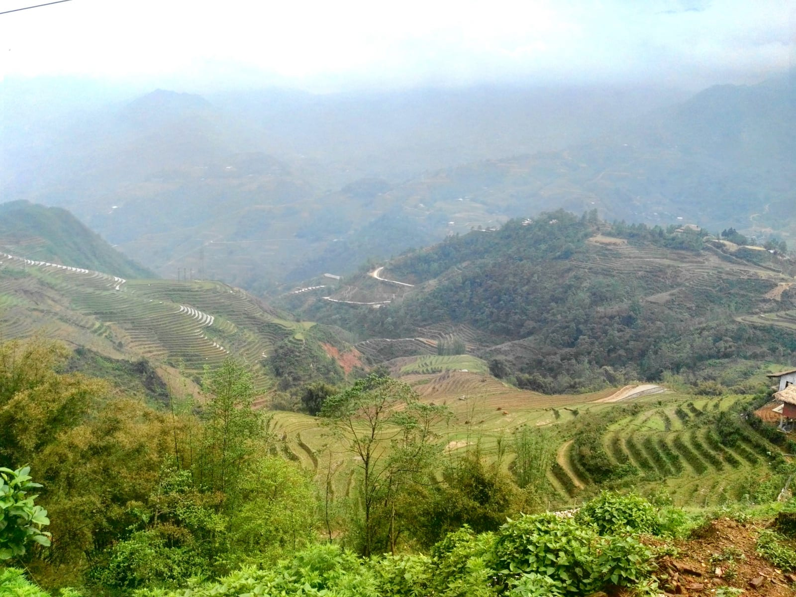 Cestou do vesniček za Lao Chai a dál, Sapa, Vietnam