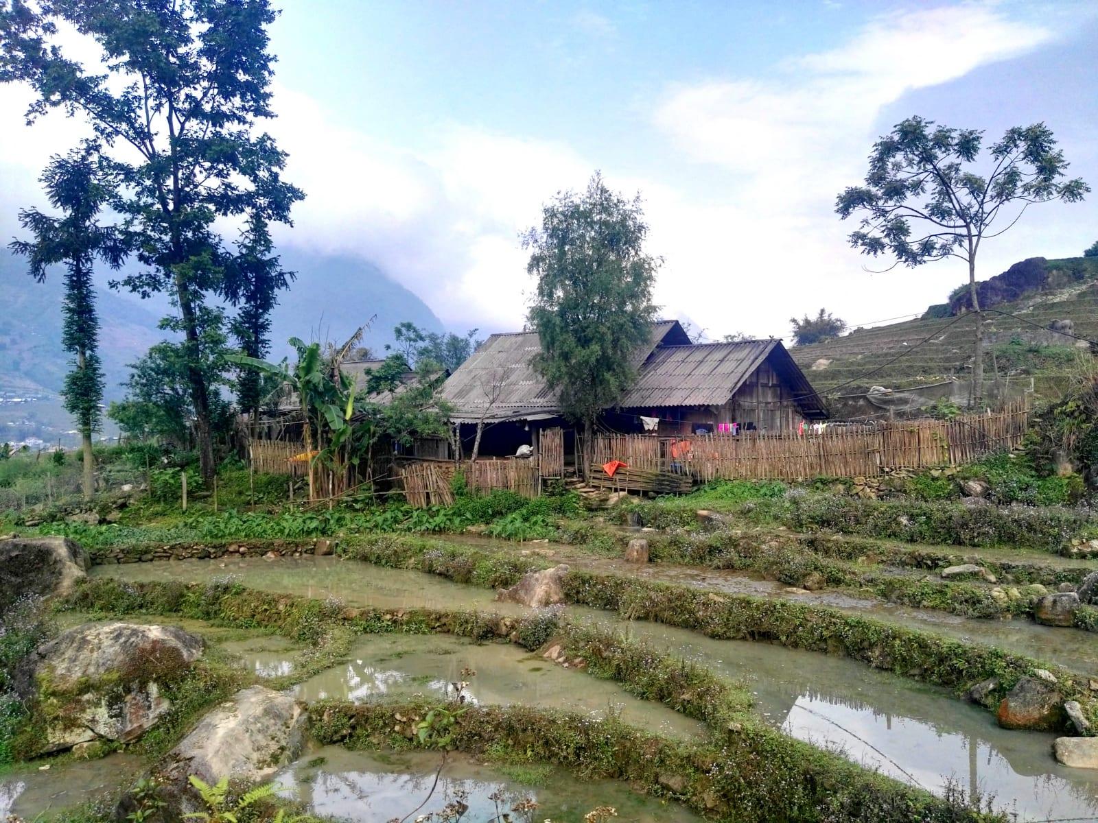 Vesnička kdesi za Lao Chai, Sapa, Vietnam