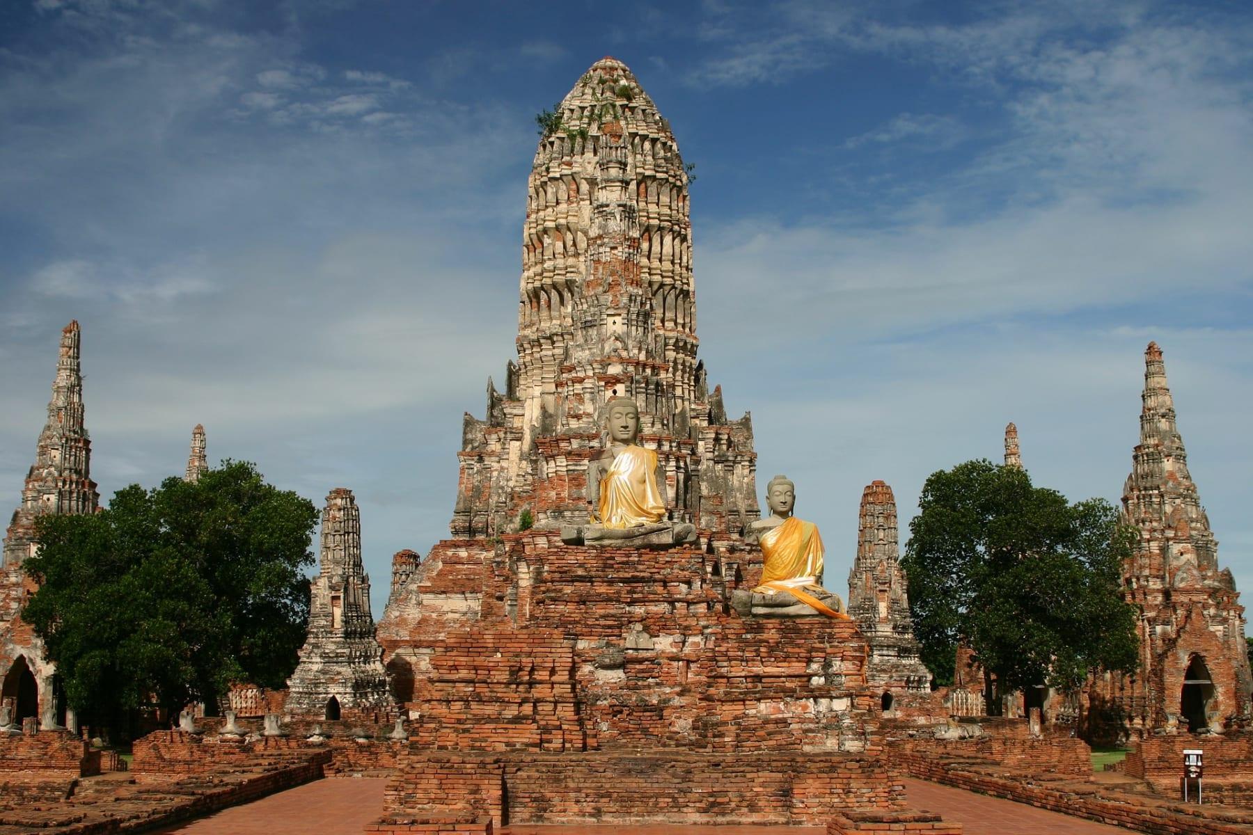 Wat Chai Watthanaram, Ayutthaya, Thajsko