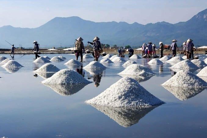 Hon Khoi Salt Fields Nha Trang