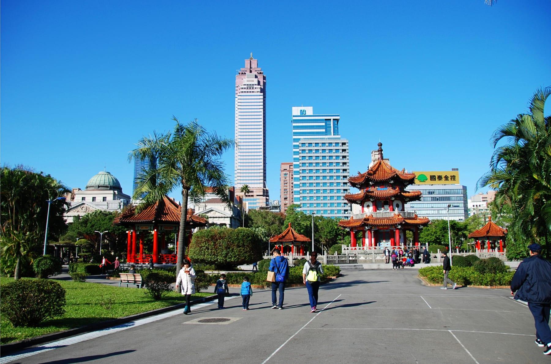 Život v hlavním městě Tchaj-pej