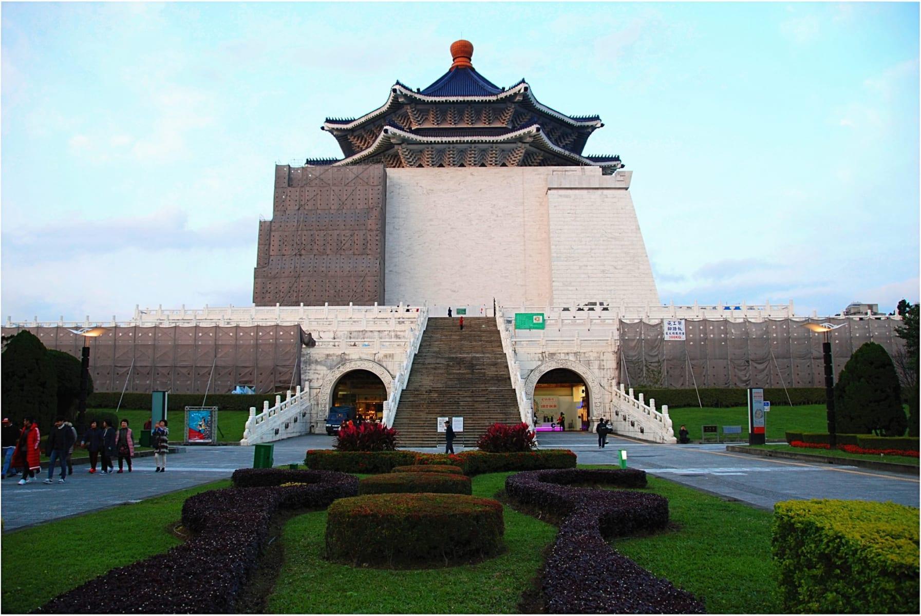 Čankajškův památník, Tchaj-wan