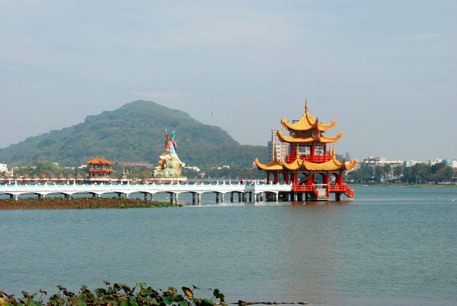 Lotosové jezero, Tchaj-wan