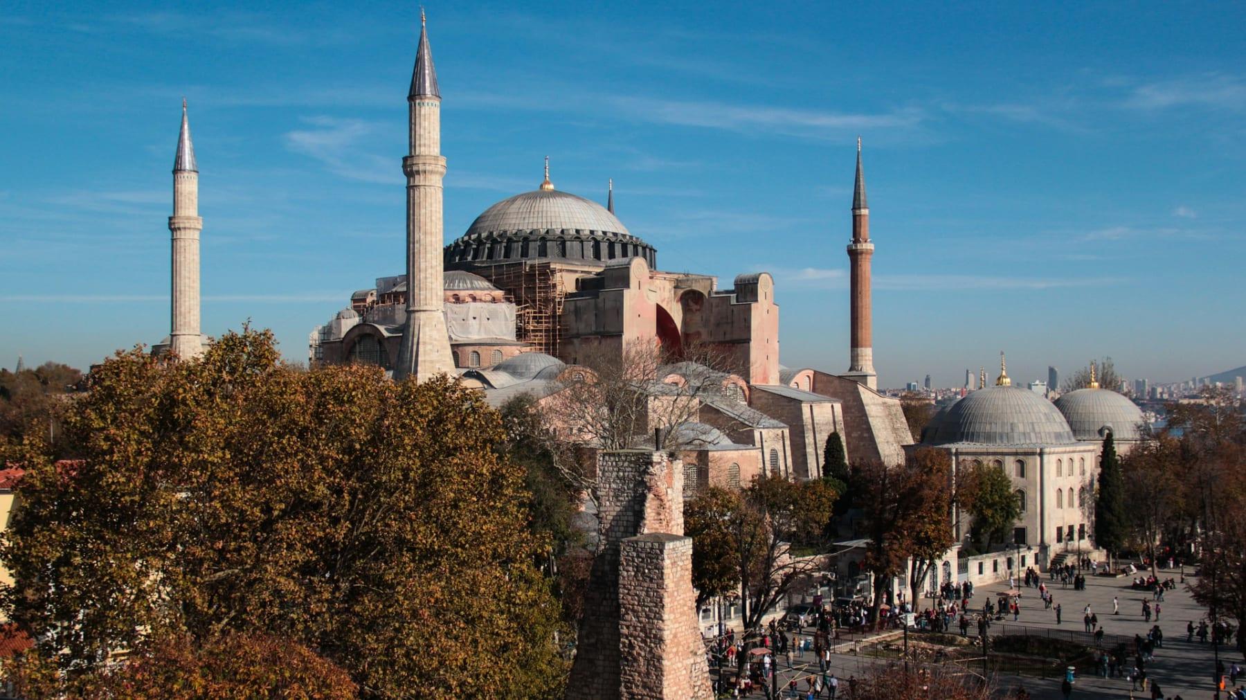 Hagia Sophia, Istanbul, Turecko