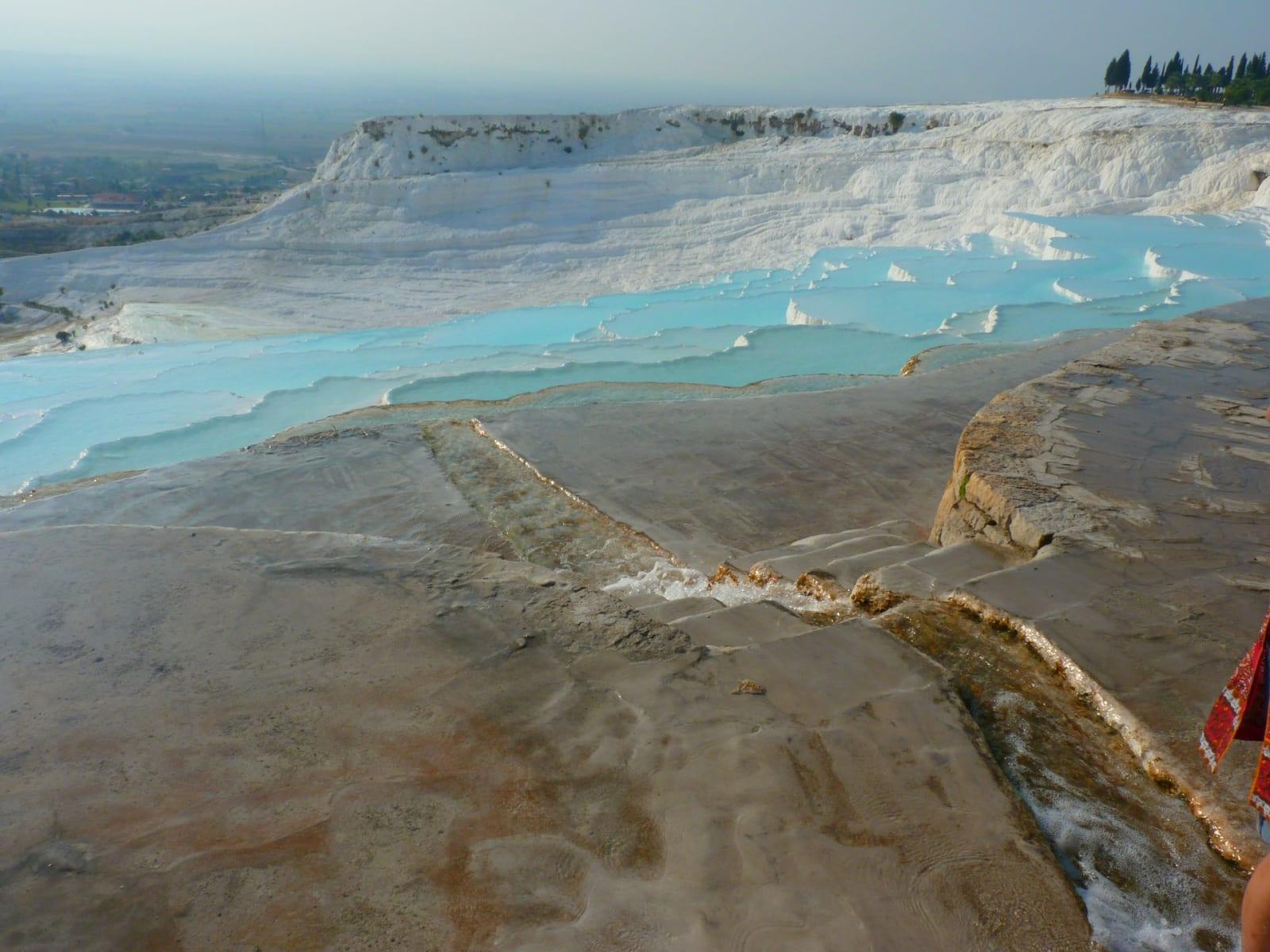 Oblast Pamukkale je zapsaná ve světovém dědictví UNESCO